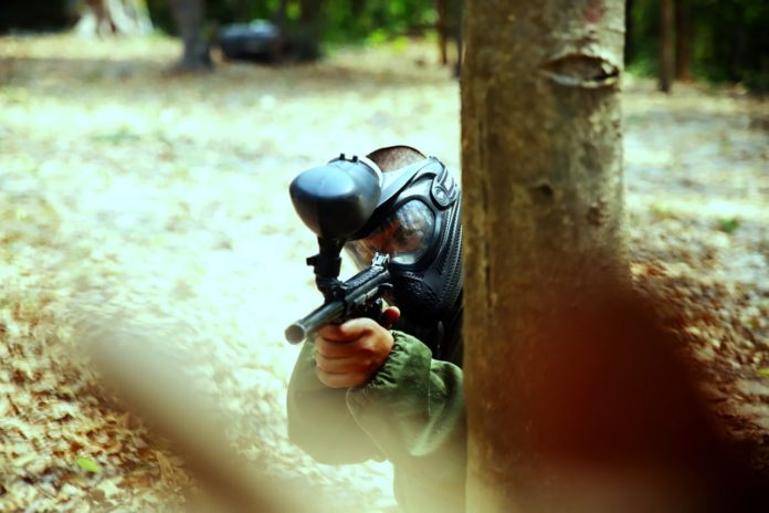 best military paintball guns