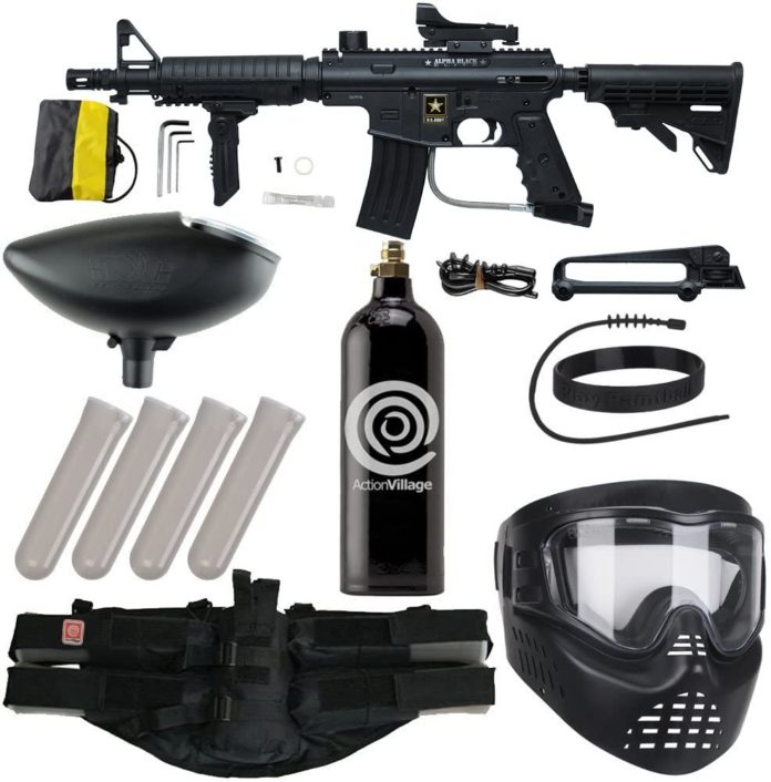Action Village Tippmann US Army Alpha Elite Package Kit