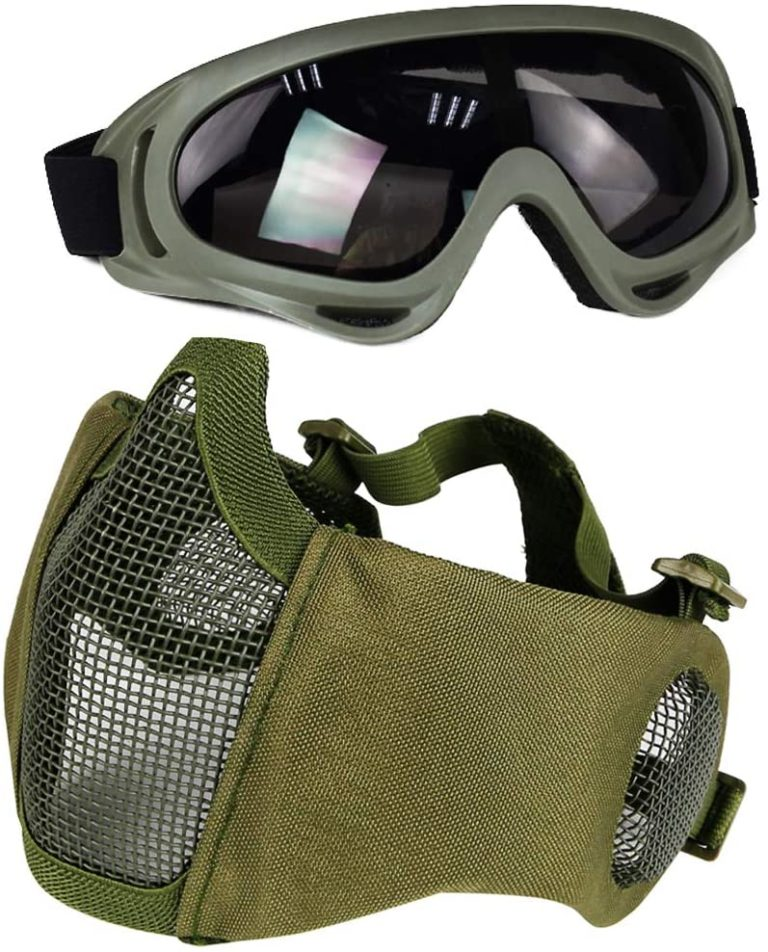 8 Best Airsoft Goggles   Buyer's Guide & Reviews   2021
